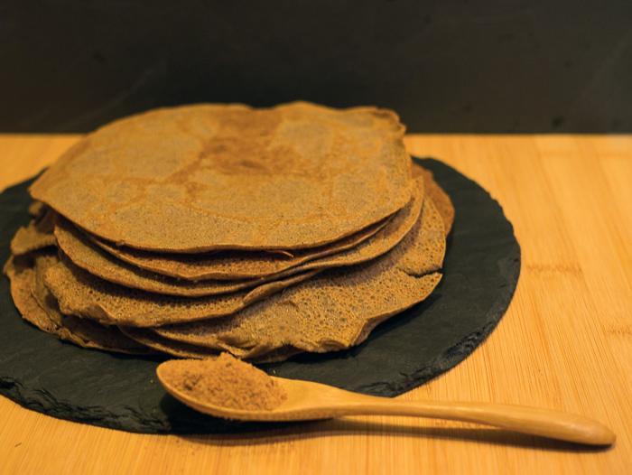 La recette des crêpes paléo