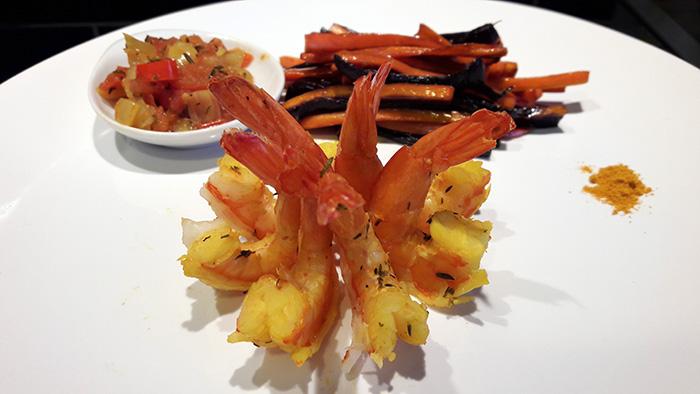 Recette paléo crevettes